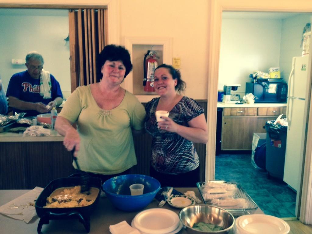 MomsDayBreakfastBarbJustine2014 - Mother's Day Breakfast