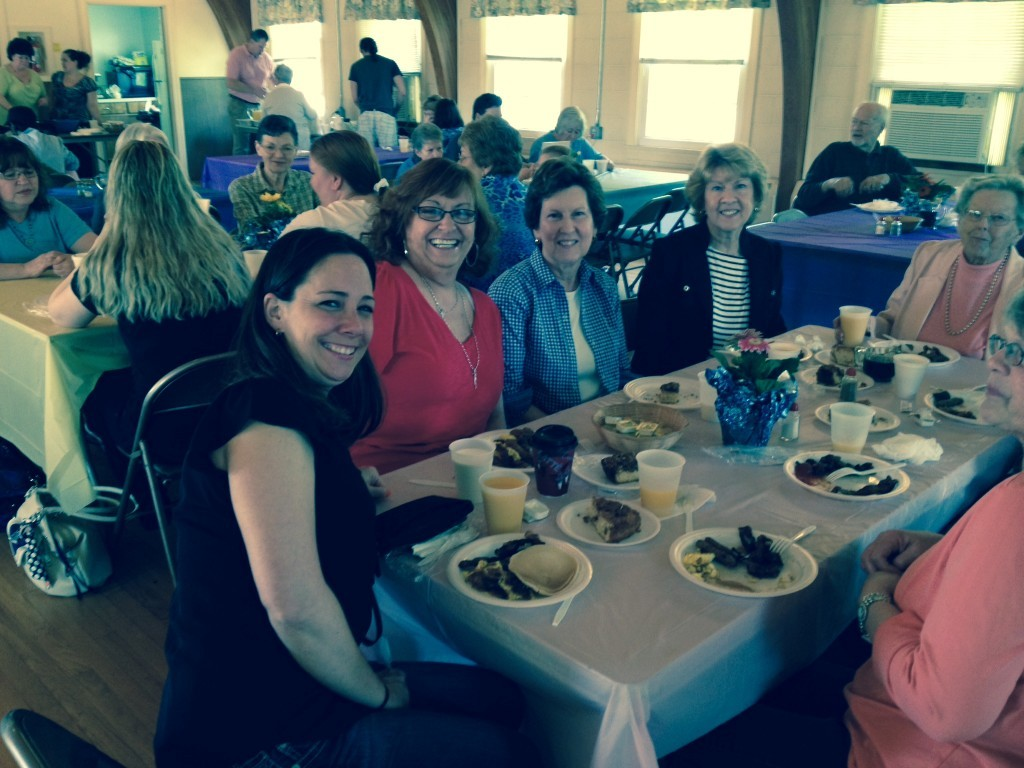 MomsDayBreakfastMargieWest2014 - Mother's Day Breakfast