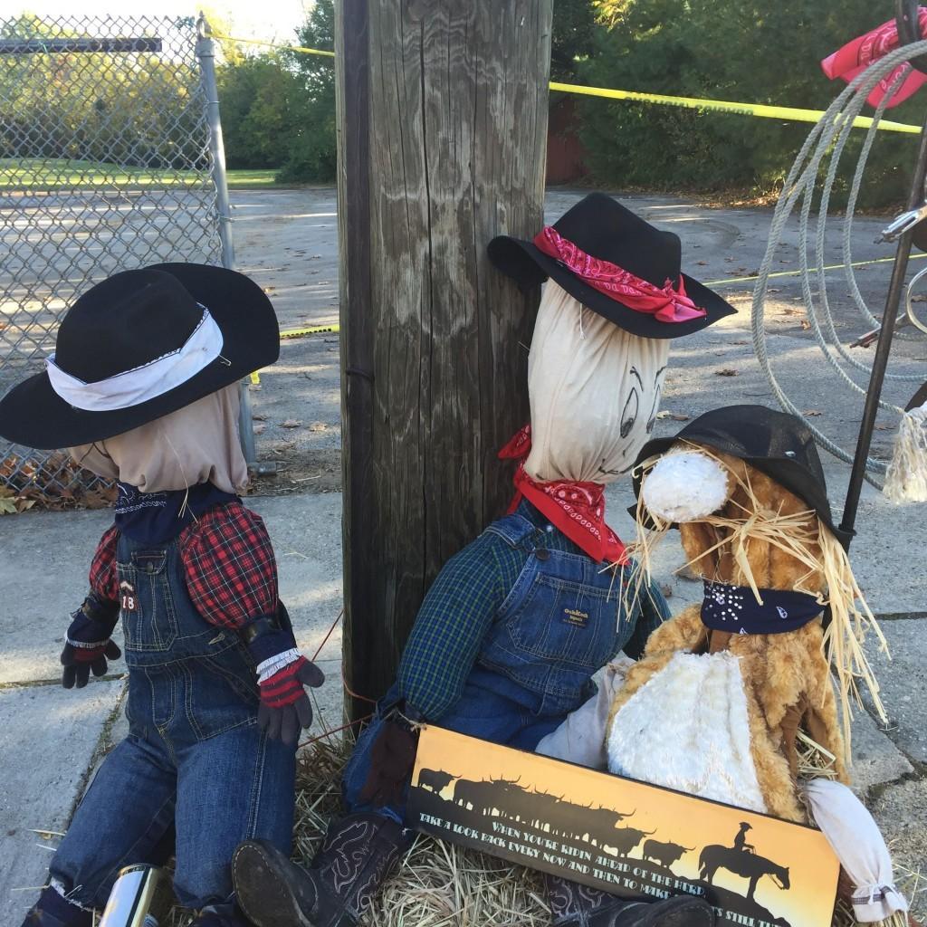 ScarecrowsCowboys2 - 2015 Pedricktown Day Photos